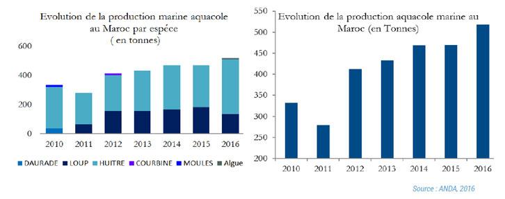 Les chiffres clés de la filière Aquaculture - Fellah Trade